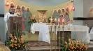 Dożynki parafialne w Jodłowej Górnej