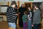 Dzieci z terenu gminy Jodłowa na zimowisku w Jodłówce Tuchowskiej