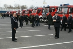 Poświęcenie i przekazanie samochodów strażackich