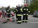 Poświęcenie nowego samochodu strażackiego