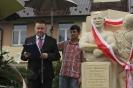 Uroczystość odsłonięcia pomnika Jana Stanisława Cyganiewicza (fot.M.Bawiec)