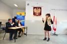 Zakończenie nauki przez III klasę LO im.B.Głowackiego w Jodłowej