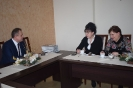 Zwiedzanie Urzędu Gminy przez gości z Tarnopola